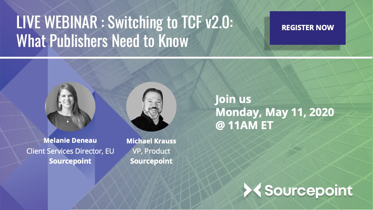 Register for our TCF v2.0 webinar